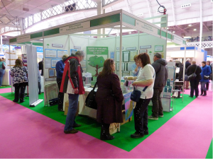 NIFHS Stand at Olympia