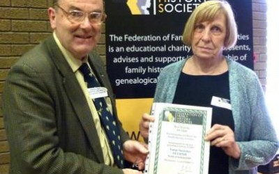 Randal gets web award