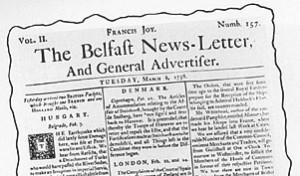 Belfast Newsletter