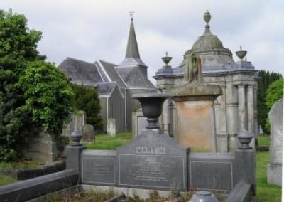 Knockbreda Parish Church & graveyard